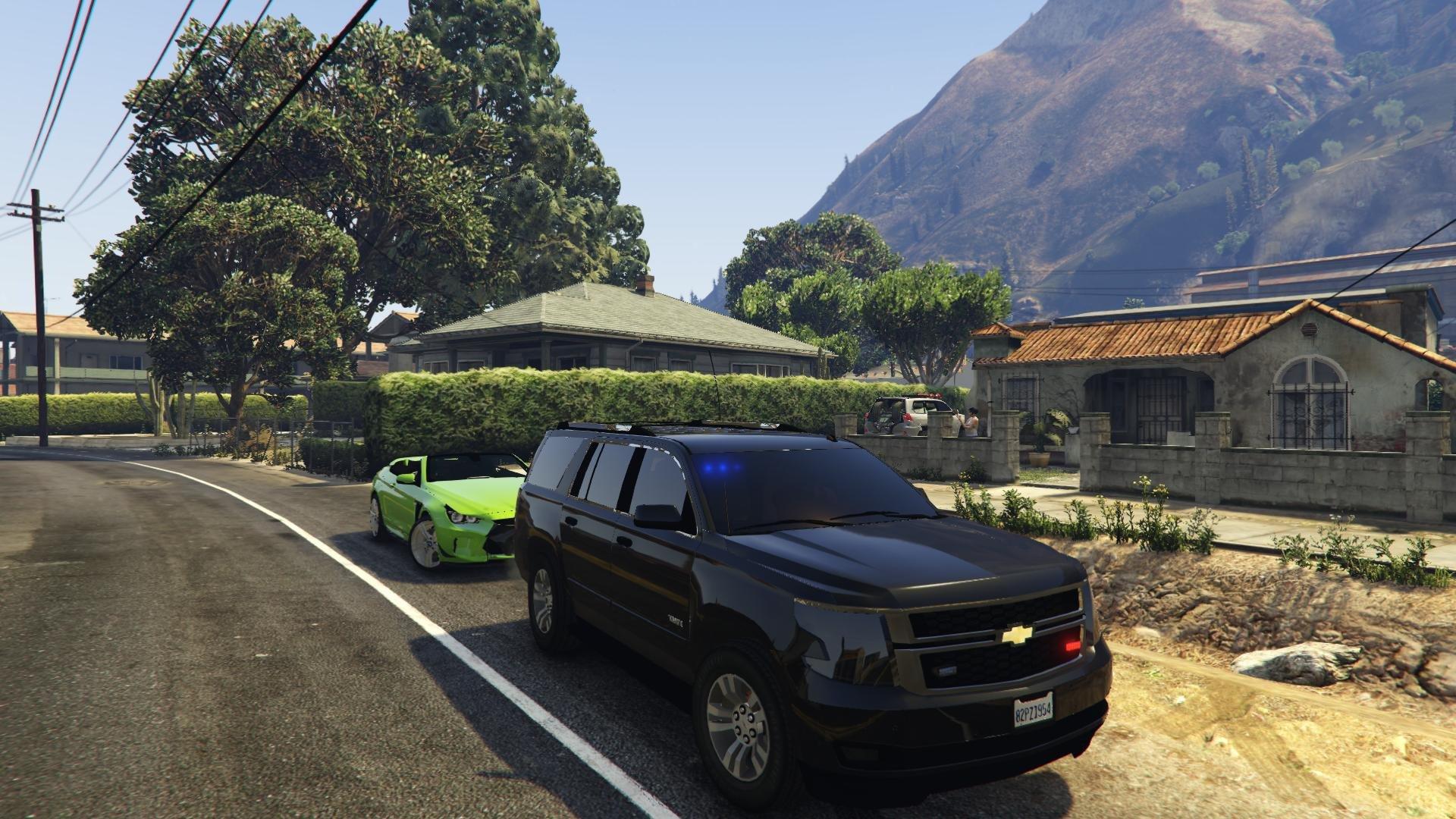 Chevrolet Avalanche 2016 >> Chevrolet Tahoe 2015 FBI (Unlocked) - Vehicules pour GTA V ...