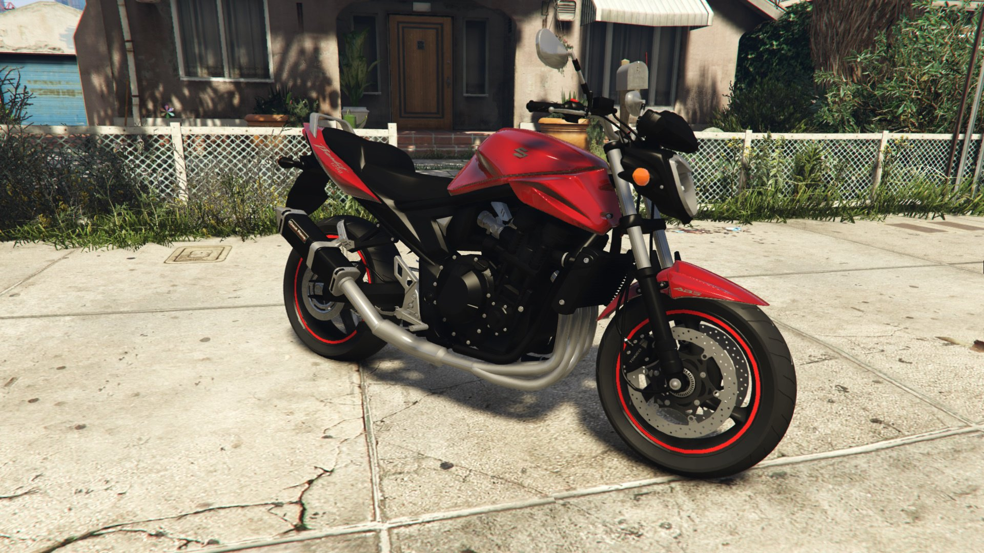 suzuki bandit 1250n vehicules pour gta v sur gta modding. Black Bedroom Furniture Sets. Home Design Ideas