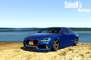 Audi RS7 Sportback 2015 [Replace / Add-on] - GTA5