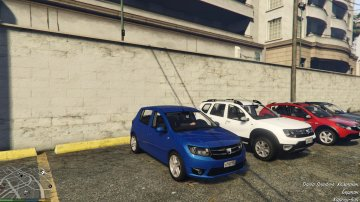 Dacia Add-On Pack - GTA5