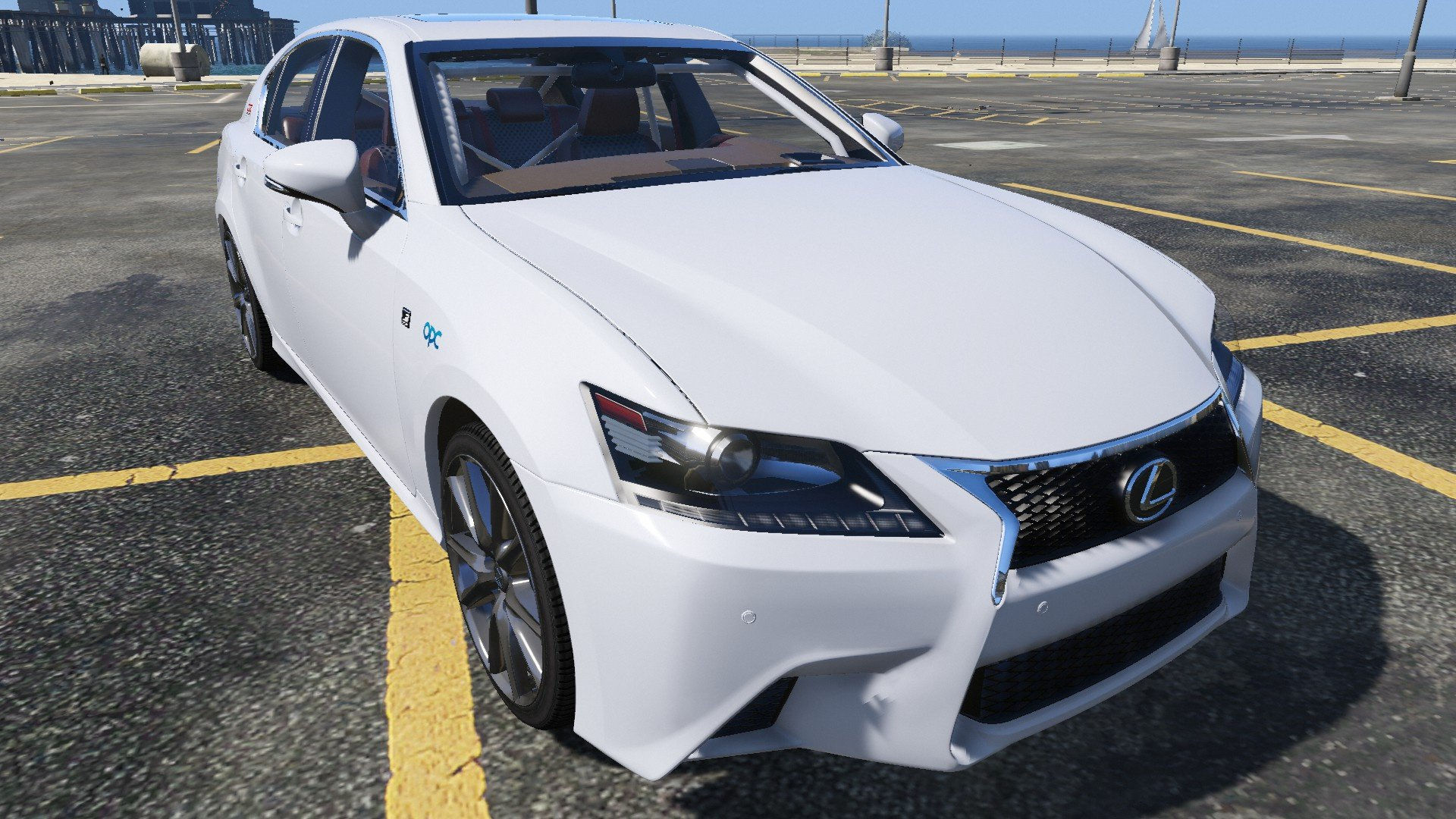 Lexus GS350 F Sport Series 2013 - GTA5