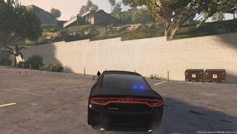 Dodge Charger DEV 2015 Unmarked - Vehicules pour GTA V sur