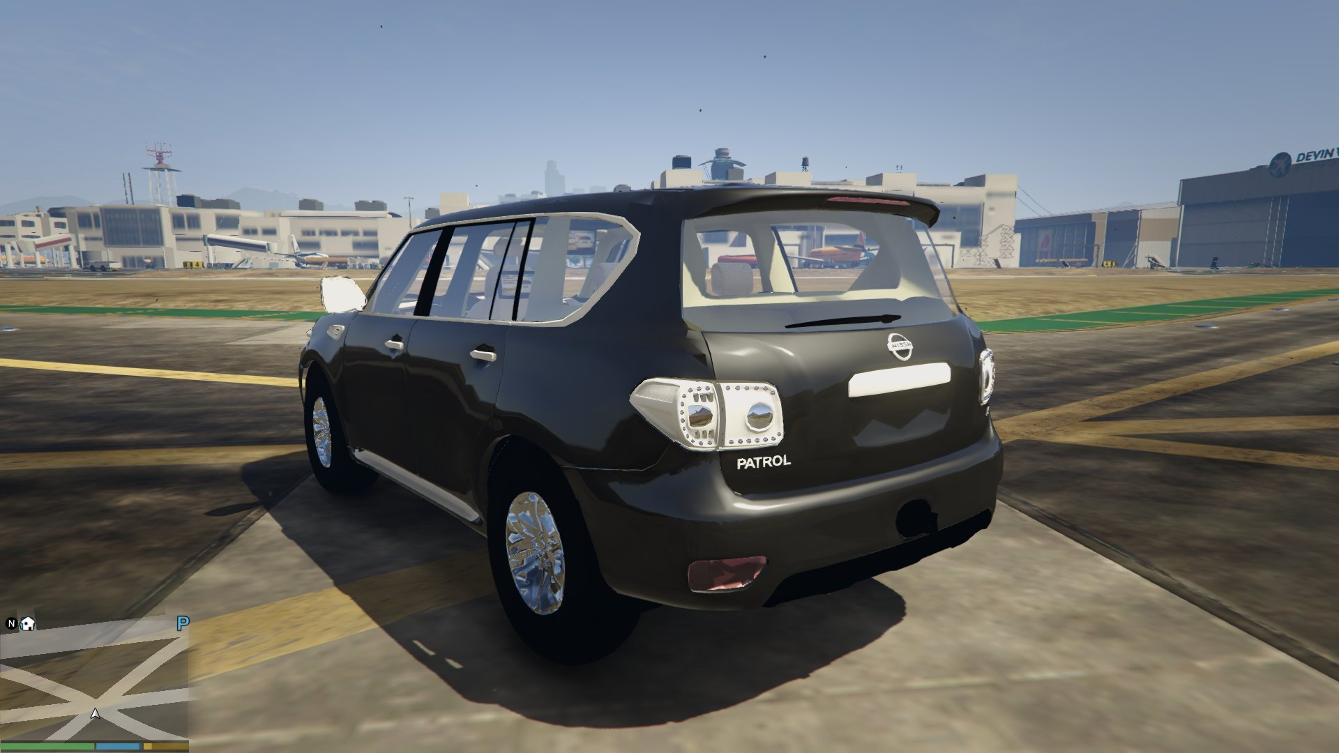 nissan patrol 2015 vehicules pour gta v sur gta modding. Black Bedroom Furniture Sets. Home Design Ideas