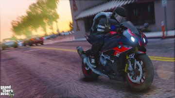 BMW S1000RR Graffiti Skin / Black and Red HP4