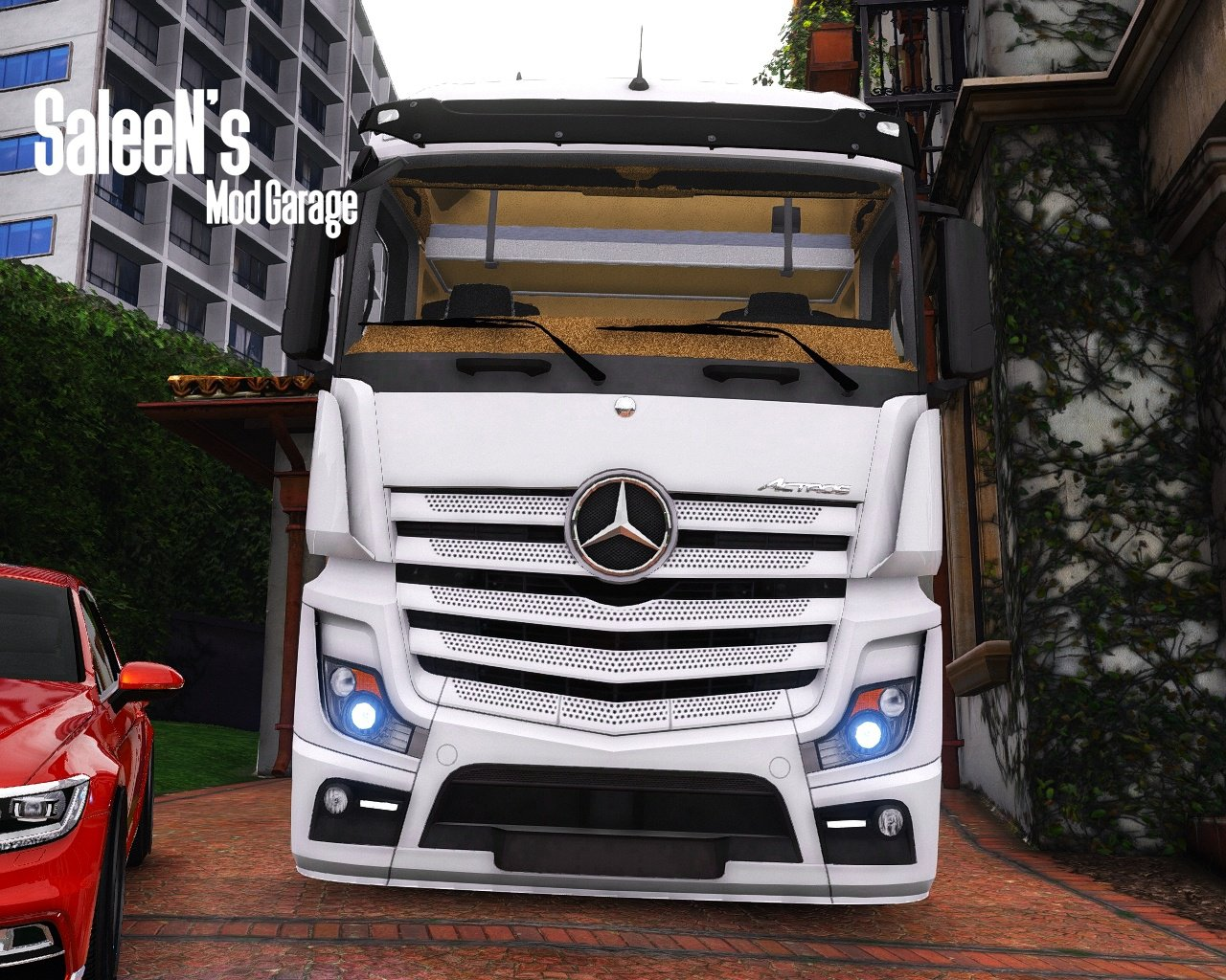 mercedes benz actros mp4 4x2 vehicules pour gta v sur. Black Bedroom Furniture Sets. Home Design Ideas