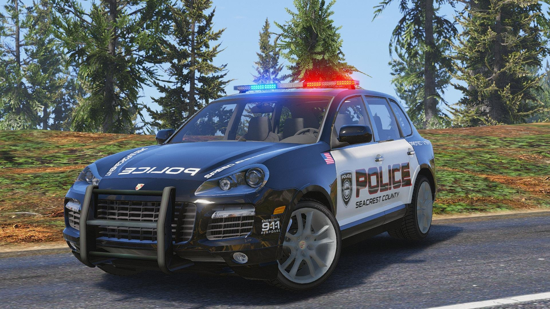 Porsche Cayenne Need For Speed Hot Pursuit Police