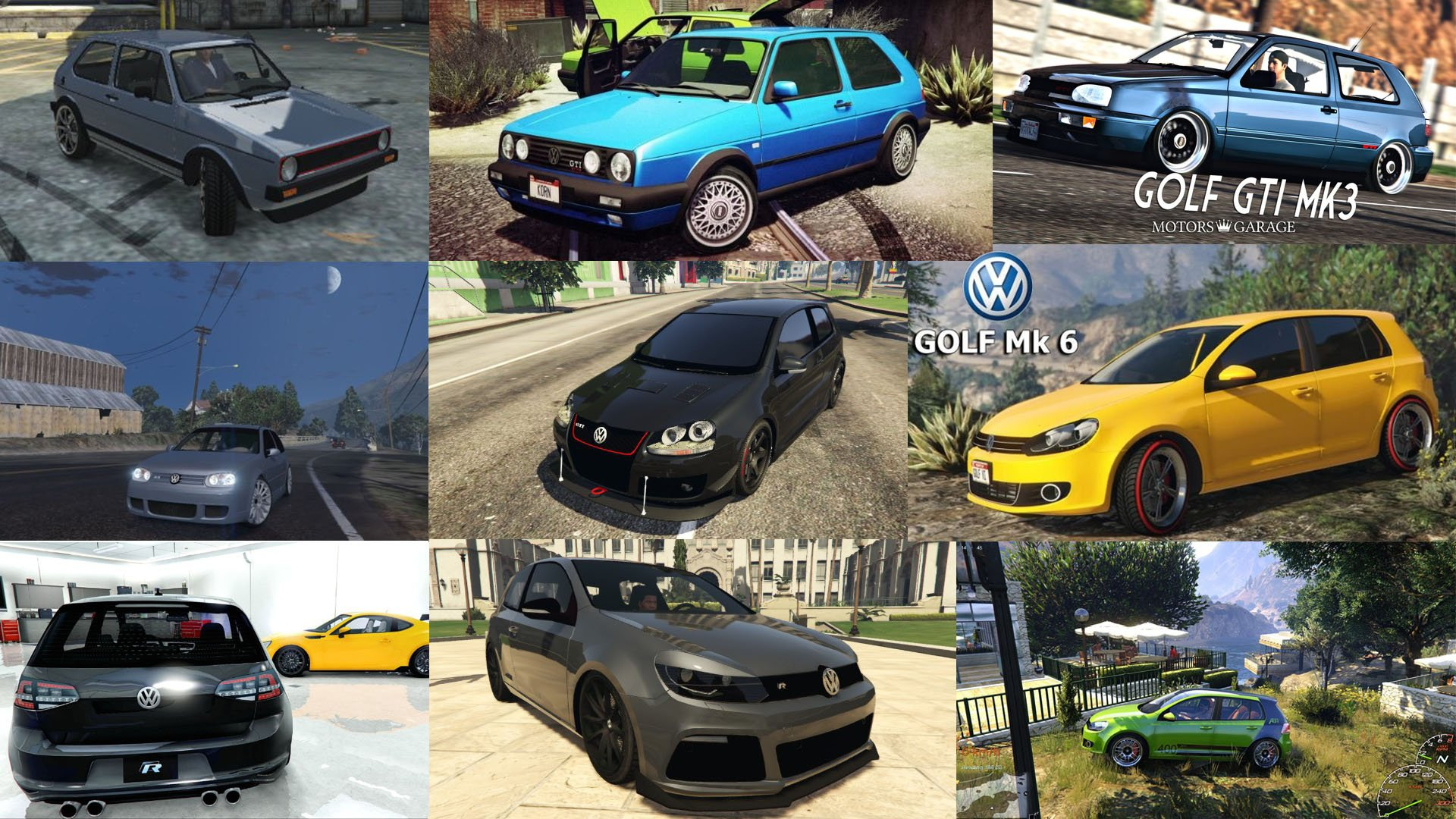 Volkswagen Golf Add-On Pack - GTA5