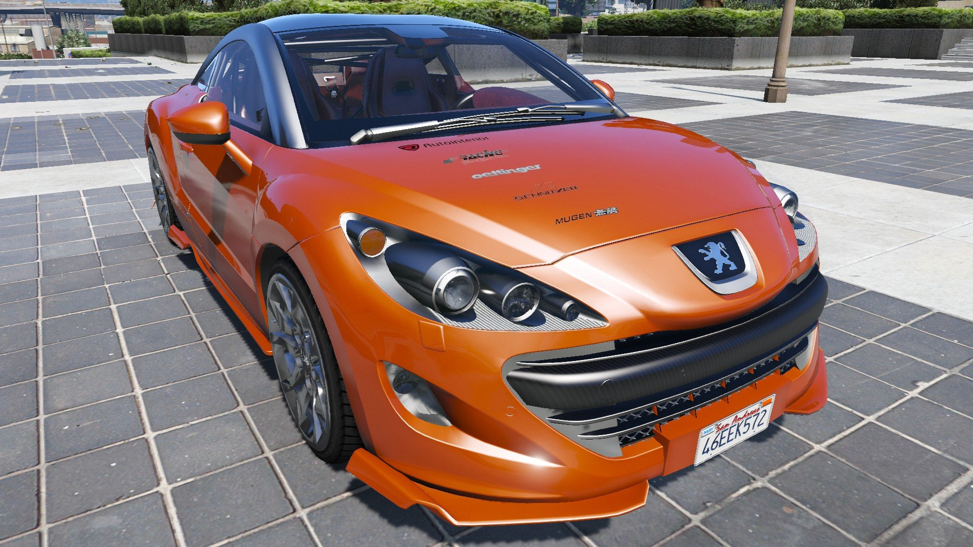 peugeot 308 rcz 2010 vehicules pour gta v sur gta modding. Black Bedroom Furniture Sets. Home Design Ideas