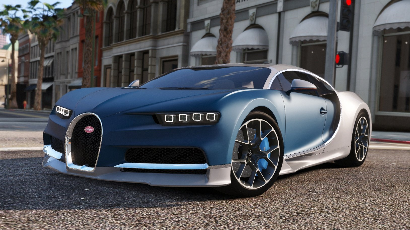 bugatti chiron vision tuning add on vehicules pour gta v sur gta modding. Black Bedroom Furniture Sets. Home Design Ideas