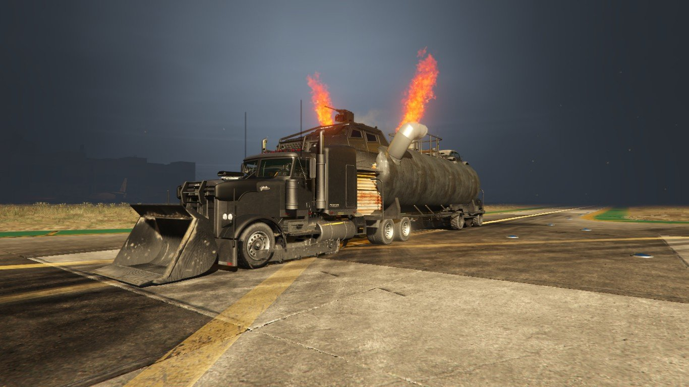mad max truck menyoo vehicules pour gta v sur gta modding. Black Bedroom Furniture Sets. Home Design Ideas