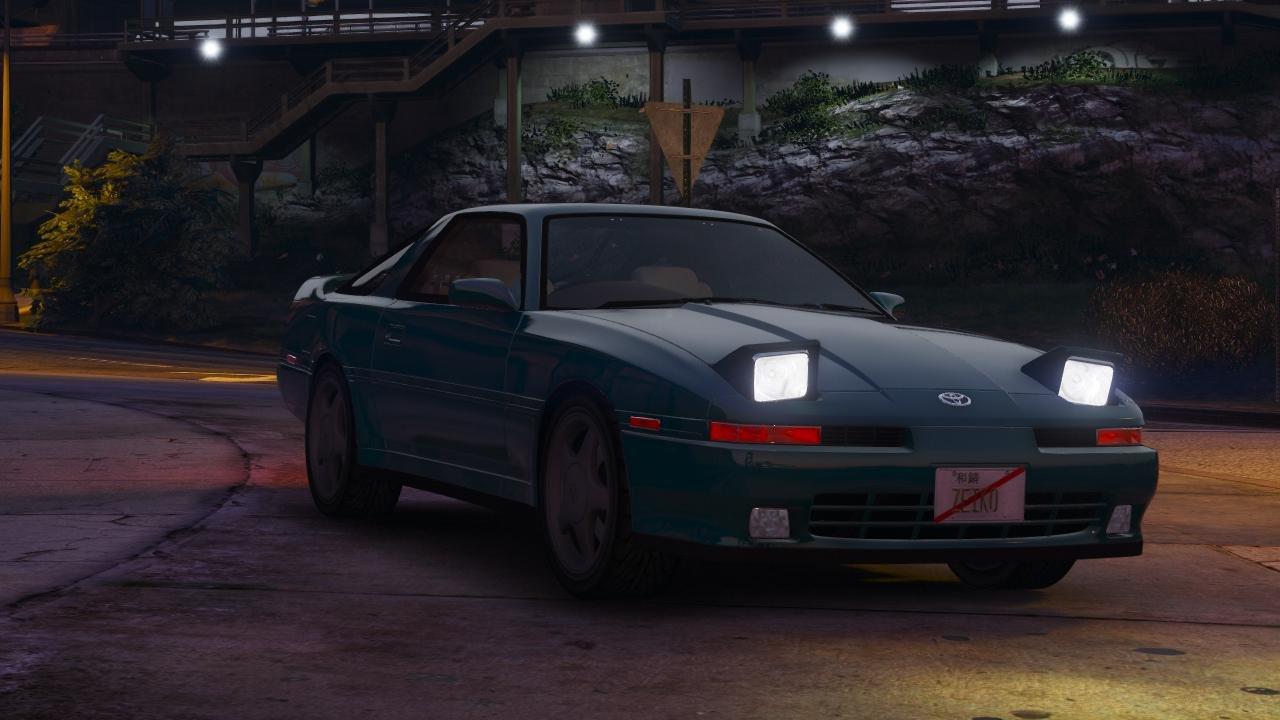 2016 Toyota Supra >> Toyota Supra Turbo Mk3 1992 - Vehicules pour GTA V sur GTA ...