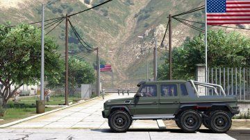 Mercedes-Benz G65 6x6 - GTA5