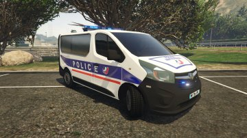 Opel Vivaro Police Nationale - GTA5