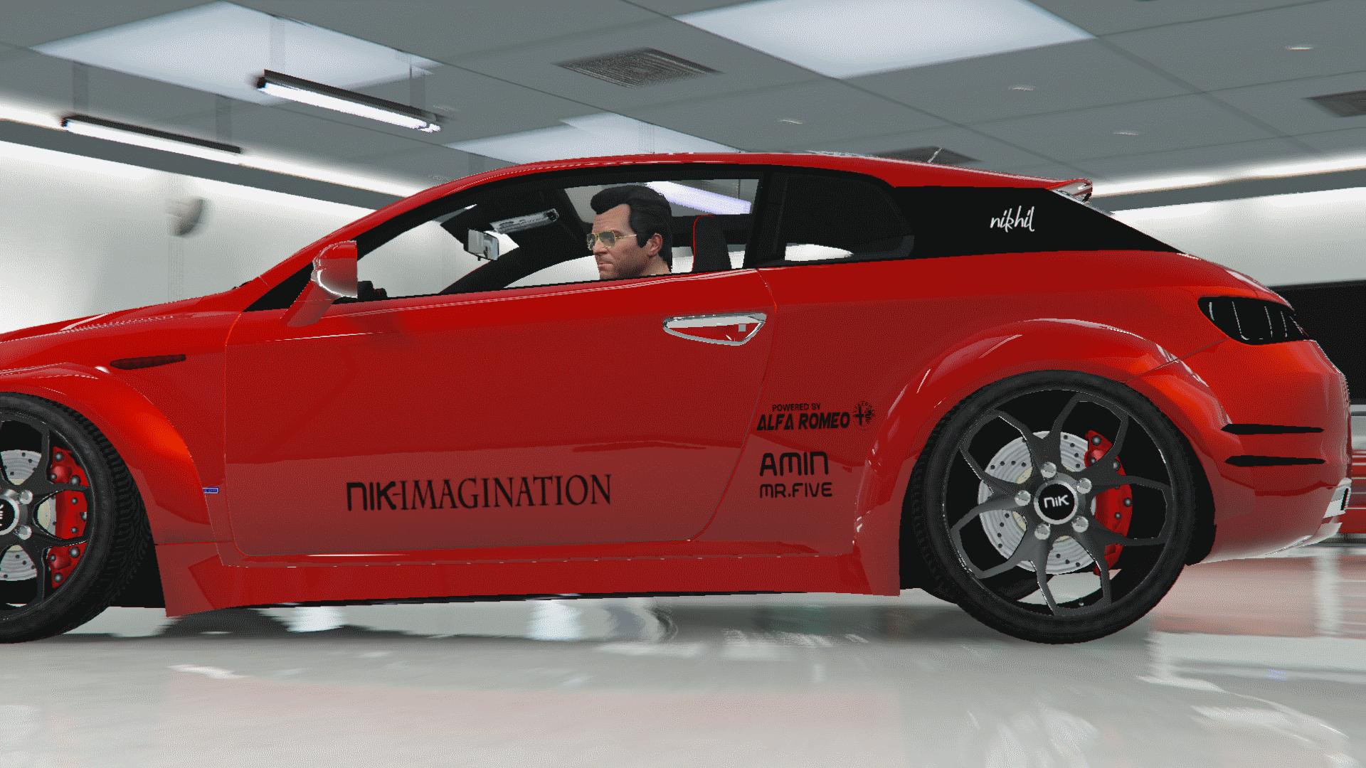 Alfa Romeo Brera Custom Vehicules Pour Gta V Sur Gta Modding