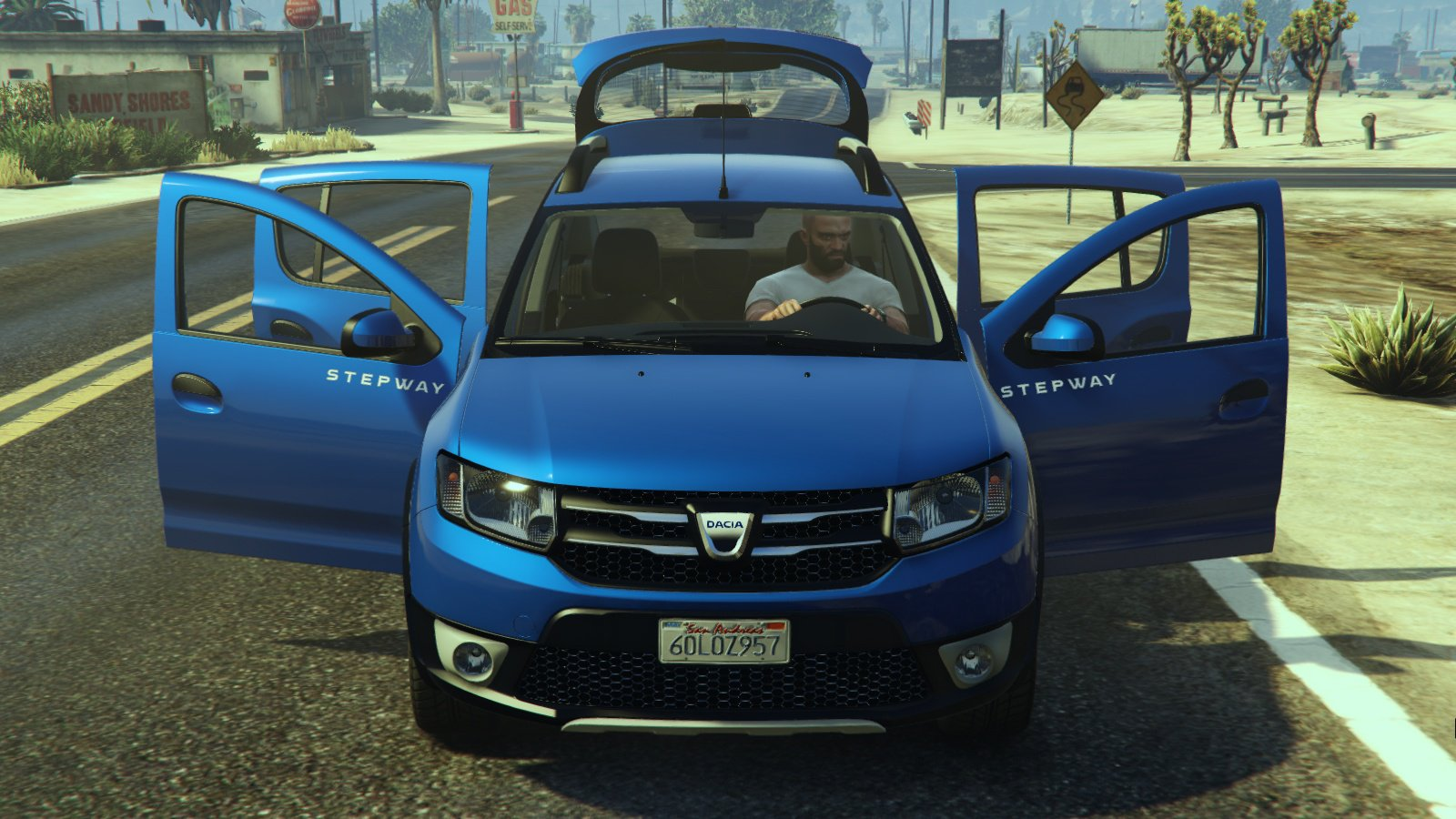dacia sandero stepway 2014 vehicules pour gta v sur gta modding. Black Bedroom Furniture Sets. Home Design Ideas
