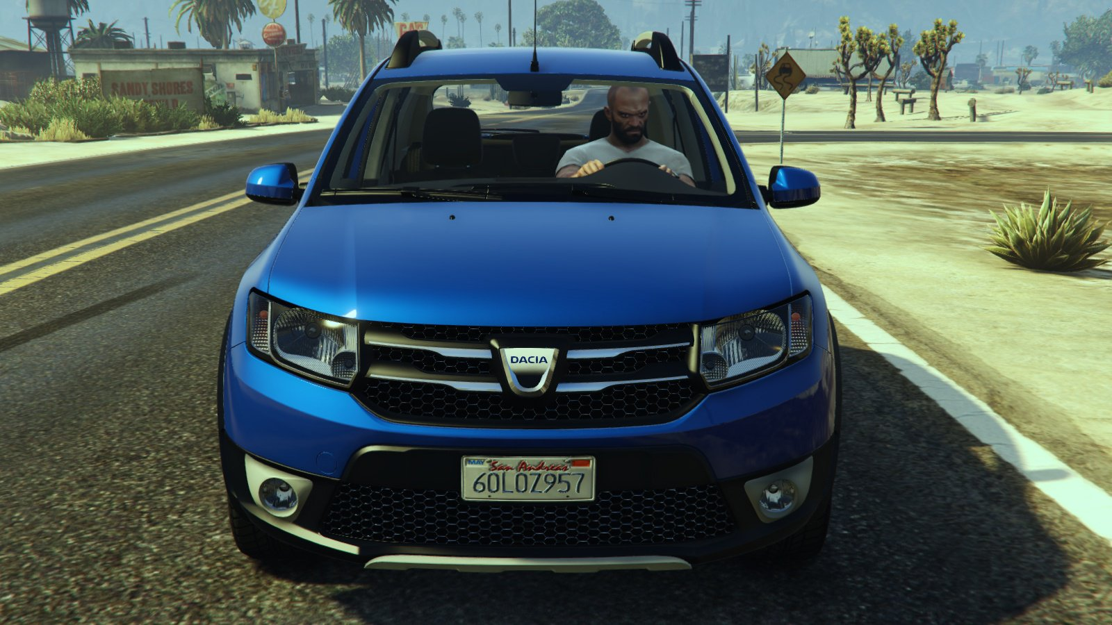 dacia sandero stepway 2014 vehicules pour gta v sur gta. Black Bedroom Furniture Sets. Home Design Ideas
