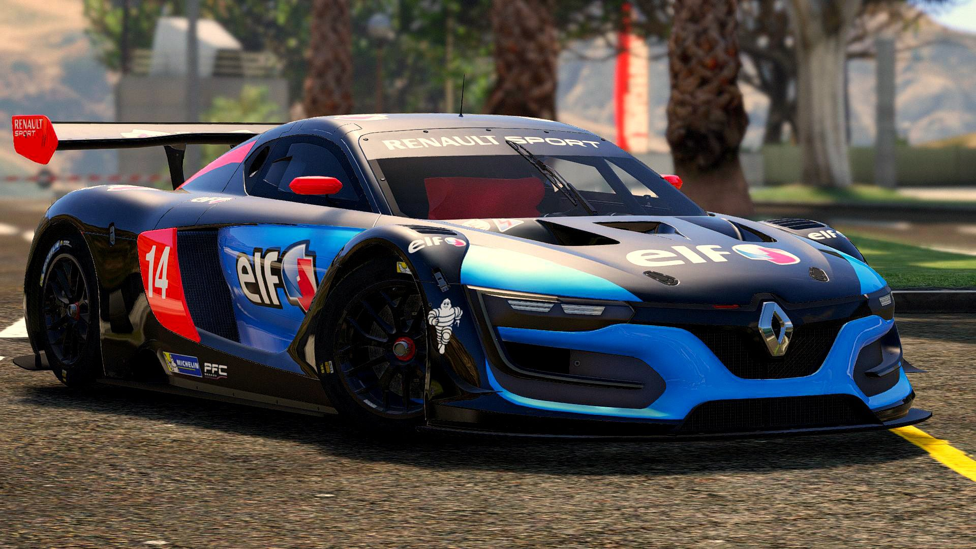 Renault Sport Rs Add On Multi Livery Template Vehicules Pour Gta V Sur Gta Modding