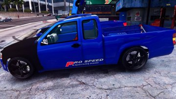 Chevrolet Colorado 2008 Spec Thailand [Add-On / Replace] - GTA5