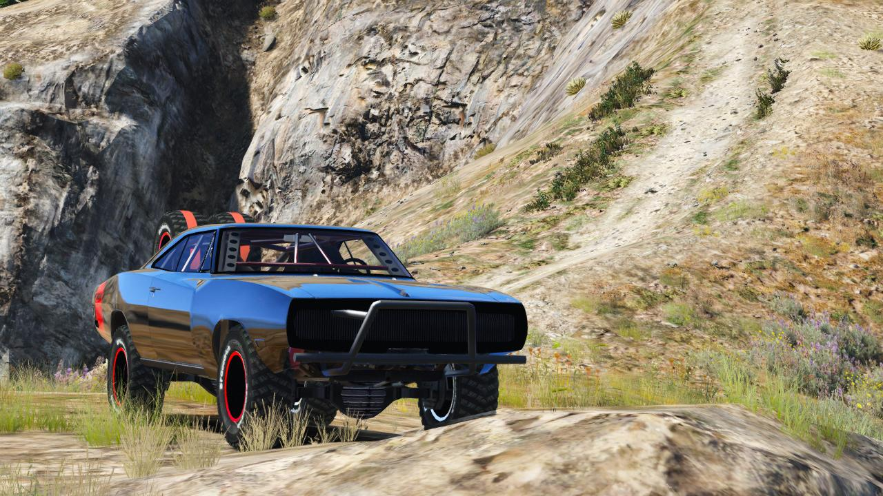 Dodge Charger Off-Road Fast & Furious 7 - Vehicules pour GTA