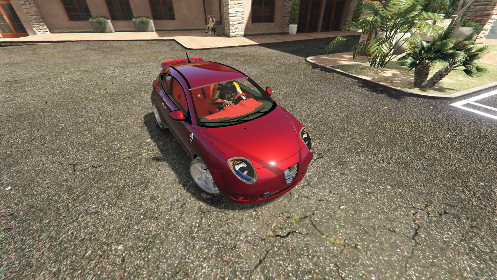 alfa romeo mito vehicules pour gta v sur gta modding. Black Bedroom Furniture Sets. Home Design Ideas