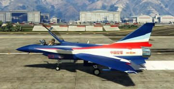 J-10A SY Aerobatic Team [Add-On / Replace] - GTA5