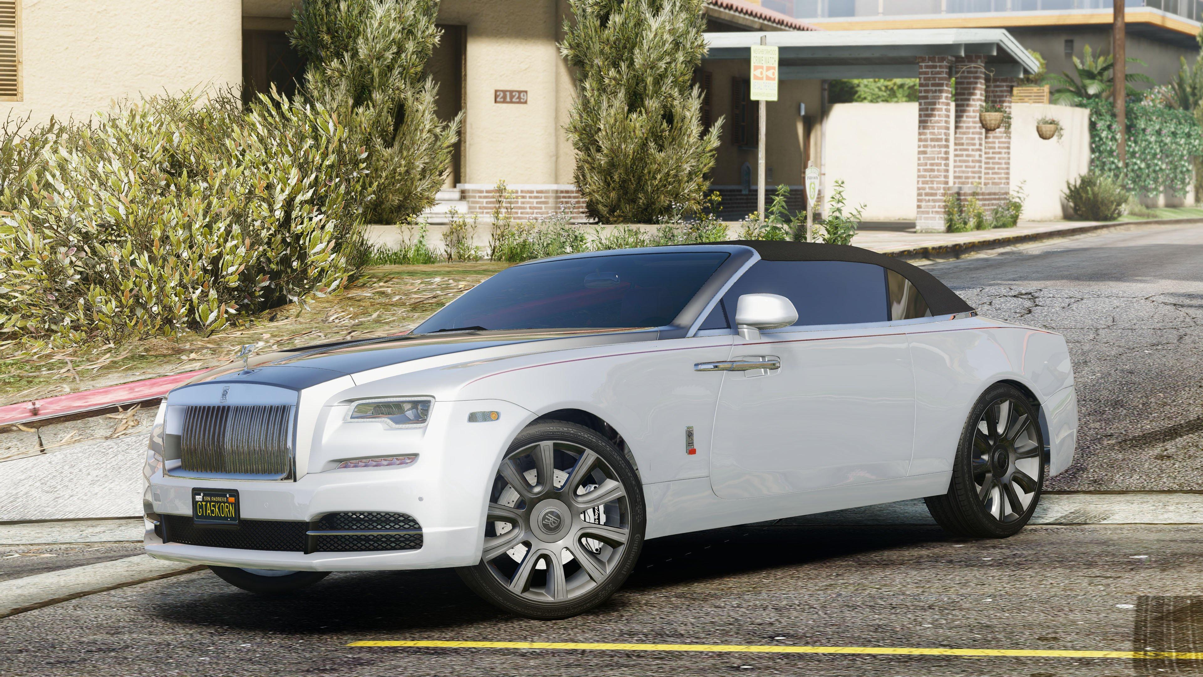 Rolls Royce Dawn 2017 Vehicules Pour Gta V Sur Gta Modding