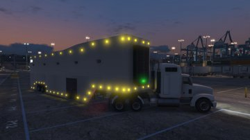 Executive Featherlite Racing Trailer and Livery [Menyoo] - GTA5