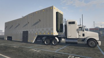 Executive Featherlite Racing Trailer and Livery [Menyoo]
