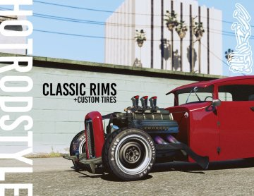 Hot Rod Style Rims