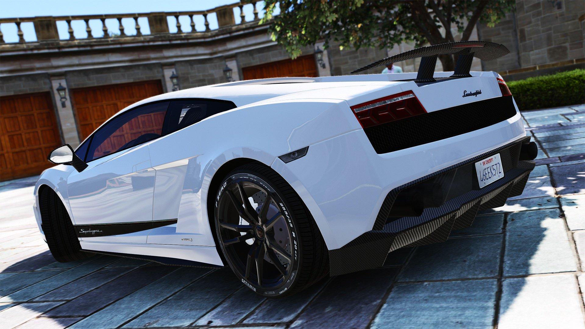 Lamborghini Gallardo Superleggera Lp 570 4 Add On Vehicules Pour Gta V Sur Gta Modding