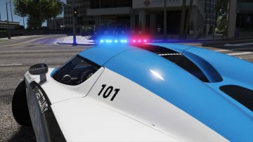 Koenigsegg CCX | Hot Pursuit Police [Add-On / Replace | Template] - GTA5