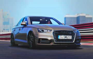 Audi A4 Quattro ABT 2017 [Replace | Tuning]