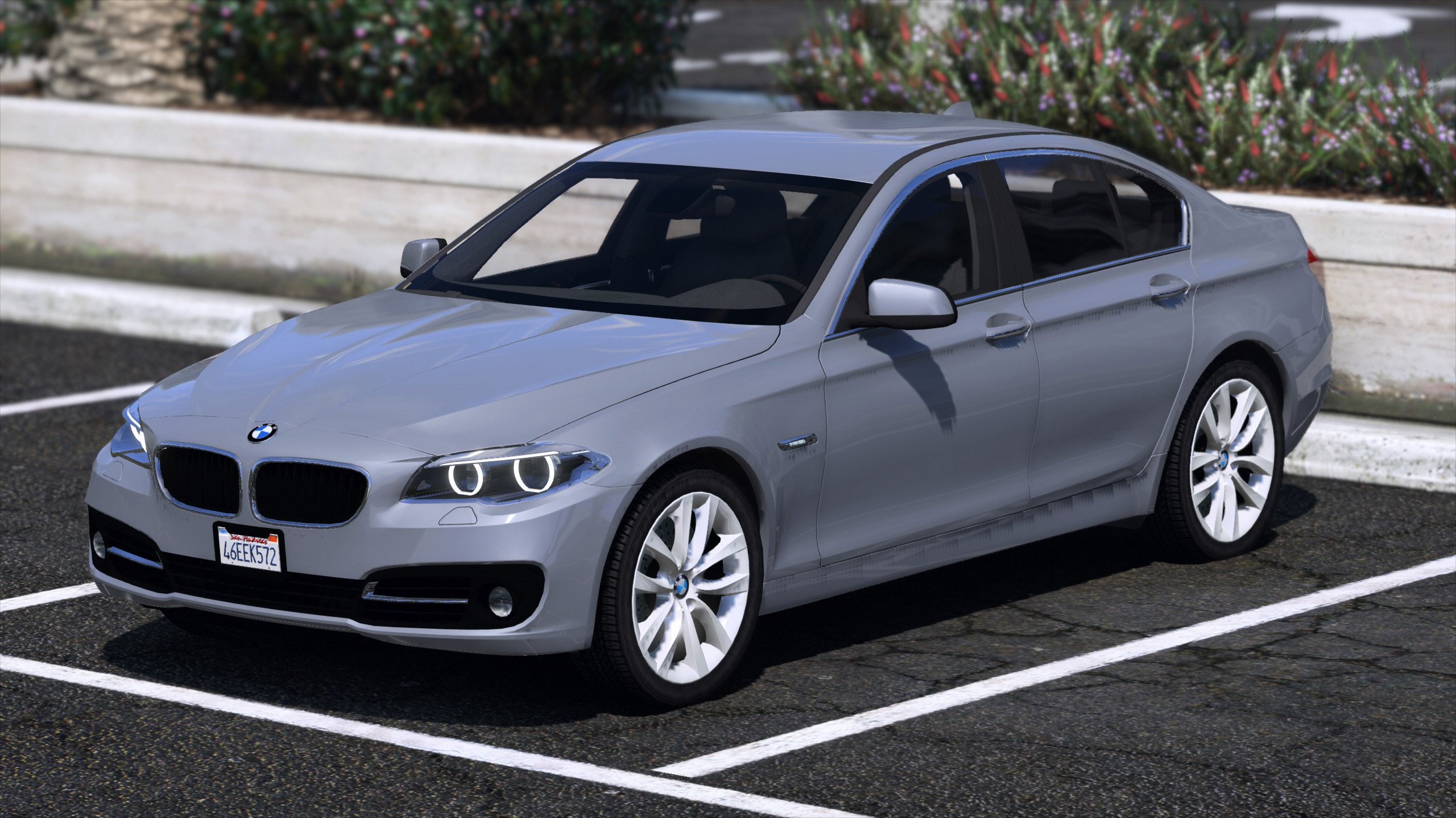 bmw 530d f10 2015 unlocked vehicules pour gta v sur gta modding. Black Bedroom Furniture Sets. Home Design Ideas