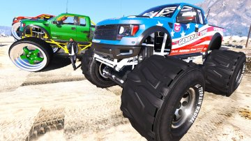 Ford Raptor Monster Truck [Unlocked]