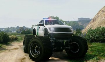 Ford Raptor Border Patrol Monster Truck
