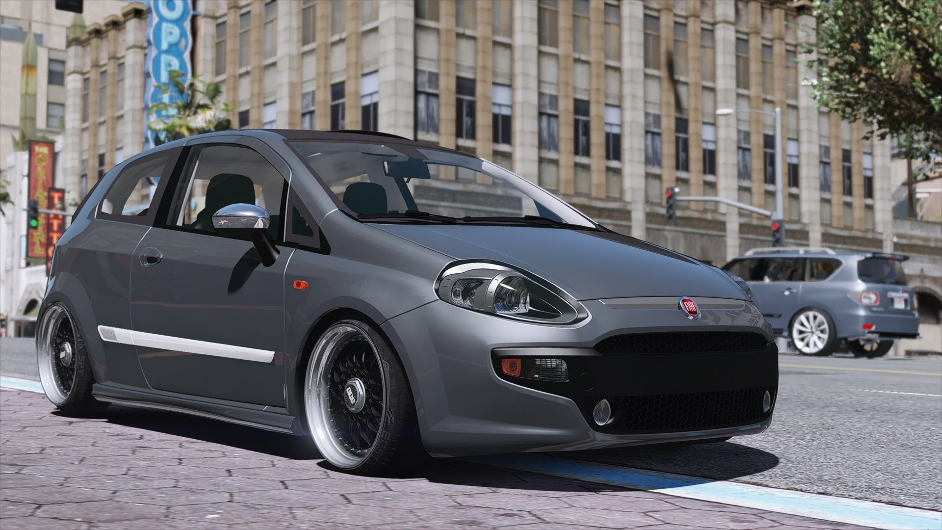 fiat punto evo sport 2010 add on replace vehicules pour gta v sur gta modding. Black Bedroom Furniture Sets. Home Design Ideas