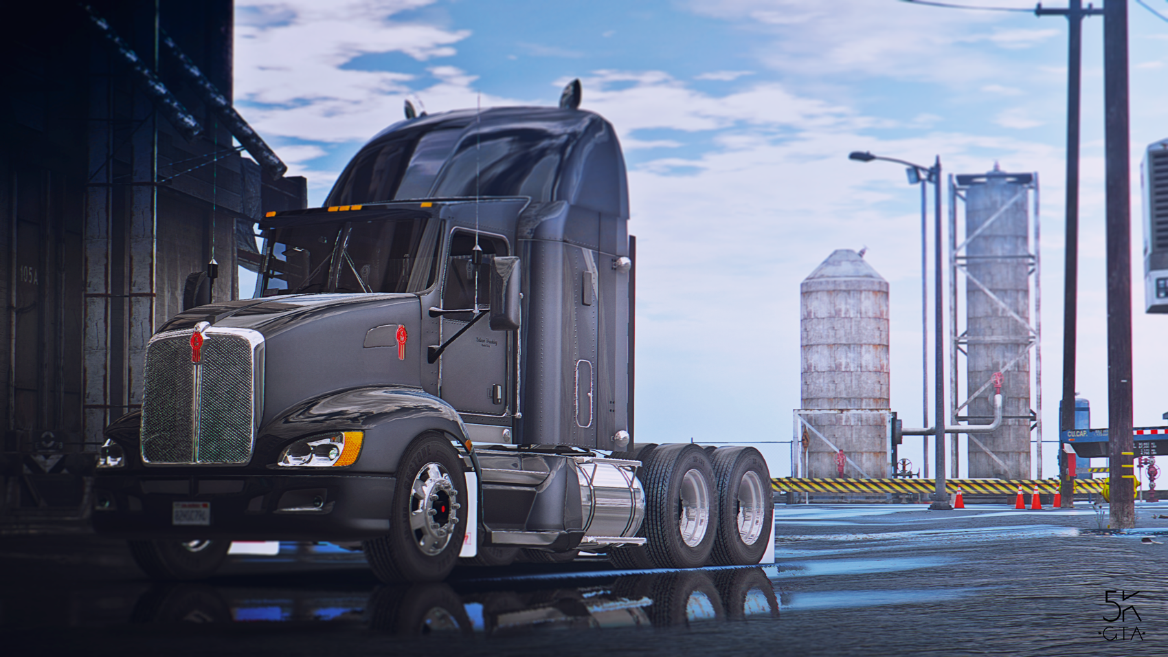Kenworth T660 - GTA5