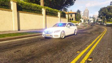 Mercedes-Benz C250 Estate Dutch Unmarked - GTA5