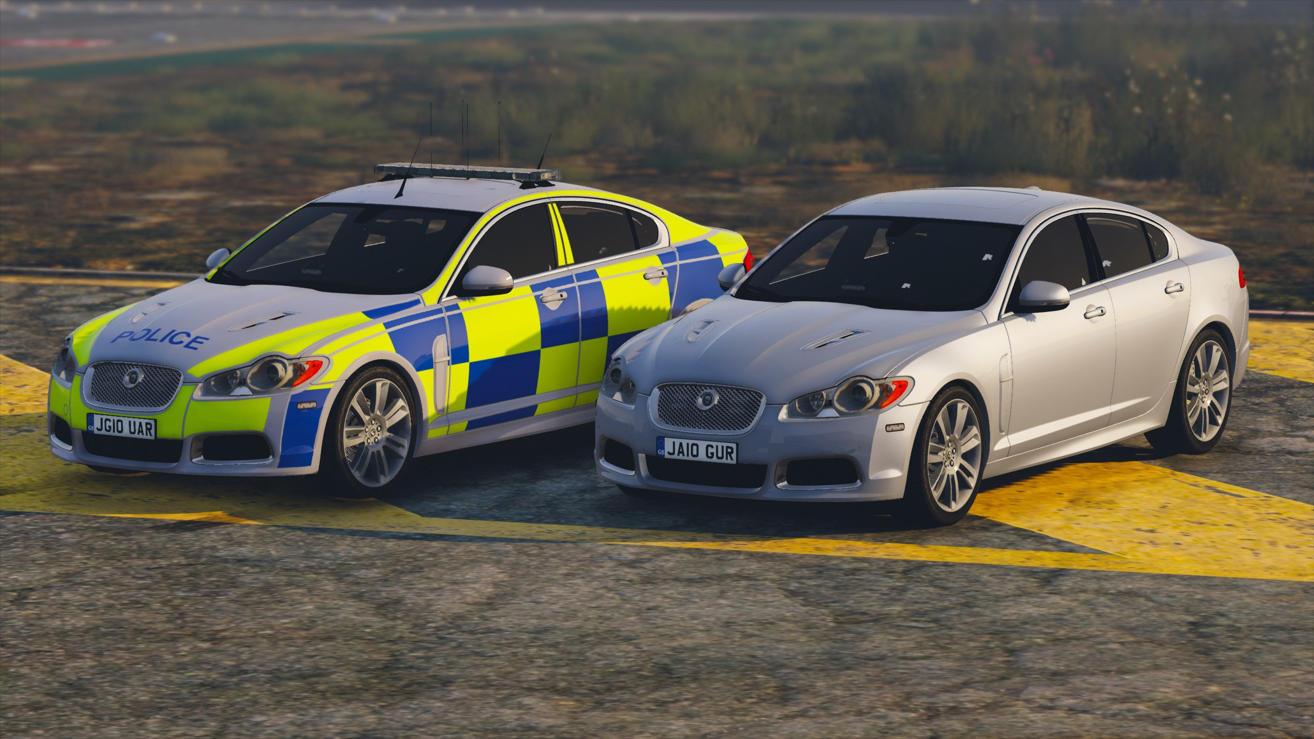 Jaguar XFR Police (Pack) - GTA5