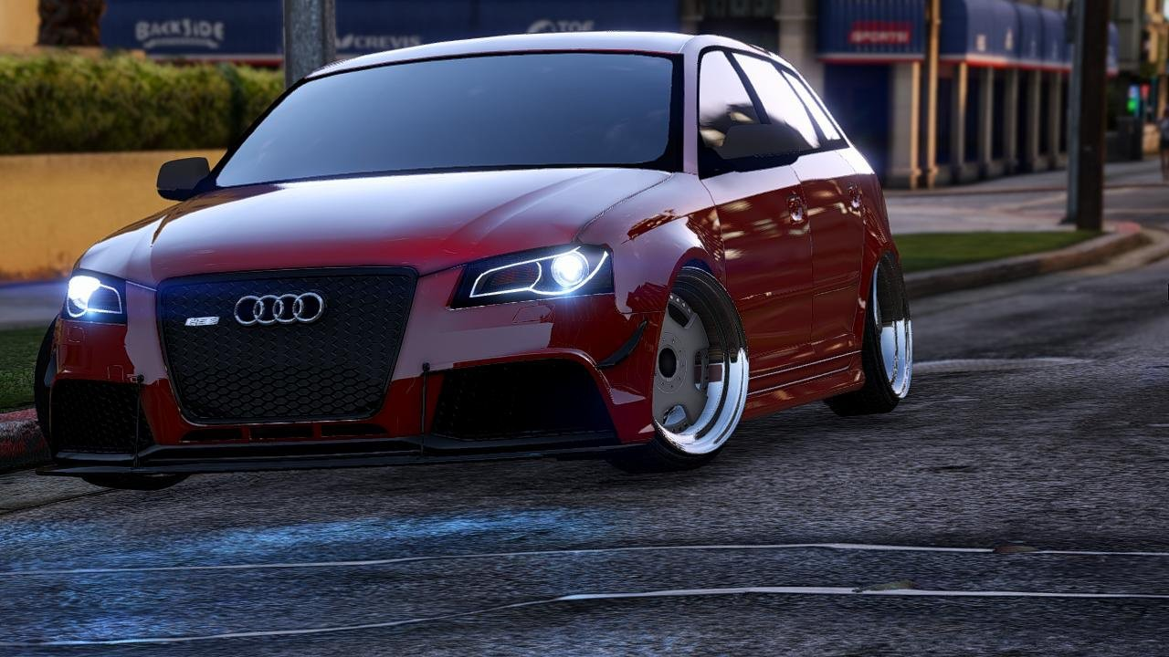 audi rs3 add on vehicules pour gta v sur gta modding. Black Bedroom Furniture Sets. Home Design Ideas