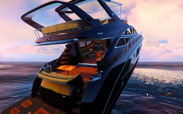 Sea Ray L650 Fly [Replace] - GTA5