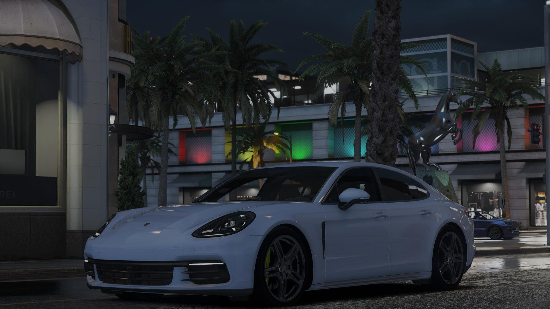 Porsche Panamera 2017 Add On Replace Vehicules Pour