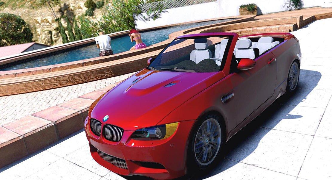 BMW M3 Convertible 2009 - Vehicules pour GTA V sur GTA Modding