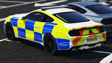 Ford Mustang 2015 Police Showcar (Pack) - GTA5