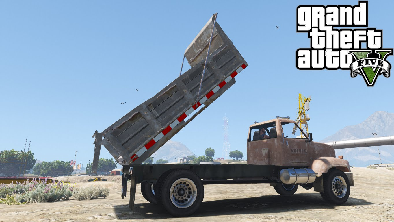 Trucks with cargo function - GTA5
