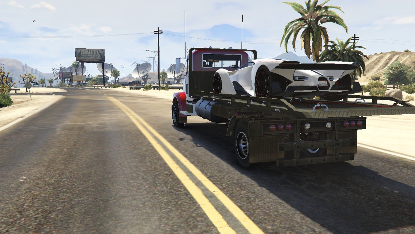 MTL Flatbed Tow Truck [Add-On / Replace | Wipers] - GTA5