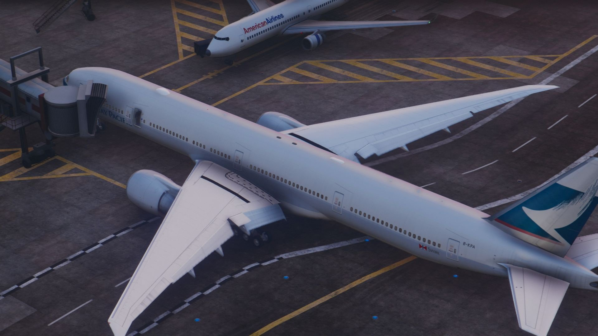 Boeing 777 300er Add On Replace Vehicules Pour Gta V