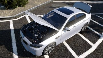 BMW M5 F10 2012 [Add-On / Replace] - GTA5