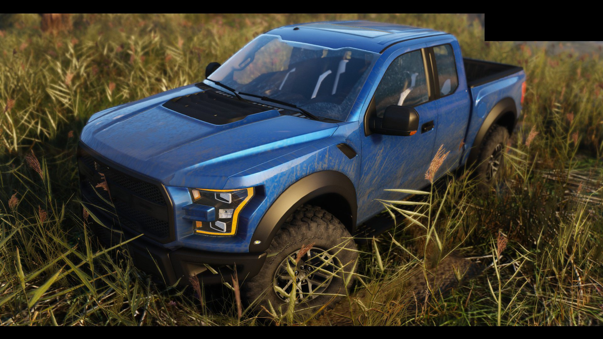 ford raptor 2017 add on tuning hq vehicules pour. Black Bedroom Furniture Sets. Home Design Ideas