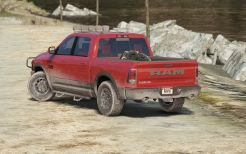 Dodge Ram Rebel 2016 [Add-On / Replace] - GTA5